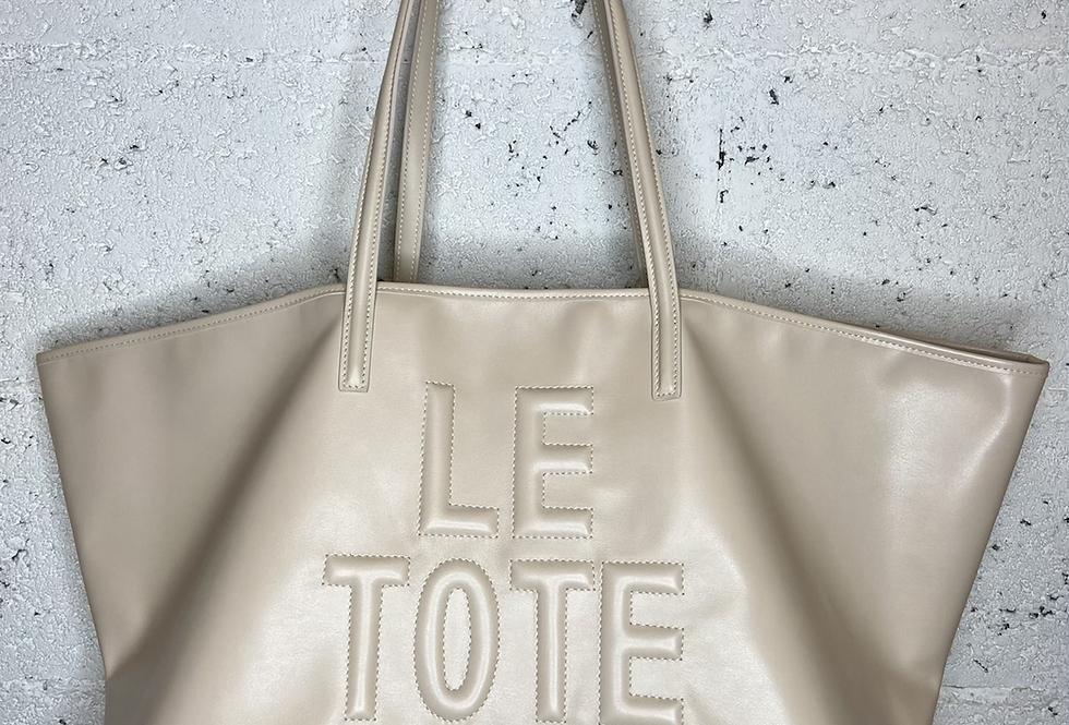 LE SNOB • Tote bag