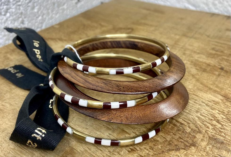 DEAR CHARLOTTE • Lot de bracelets