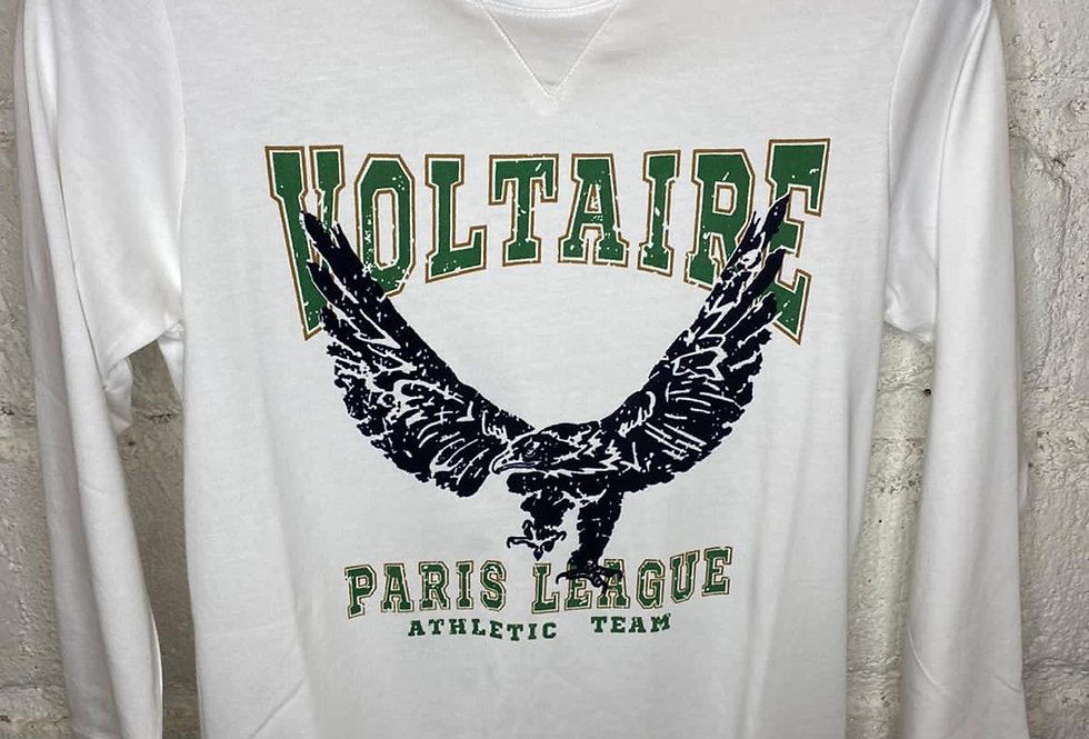 ZADIG & VOLTAIRE • Tee-shirt manches longues