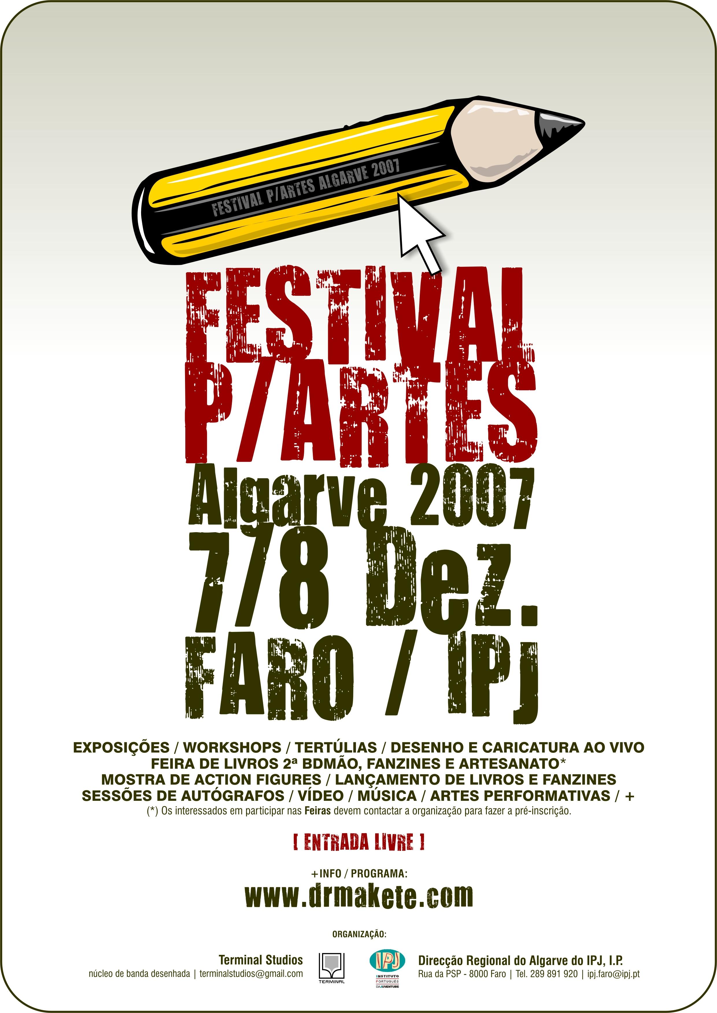 festival partes - poster