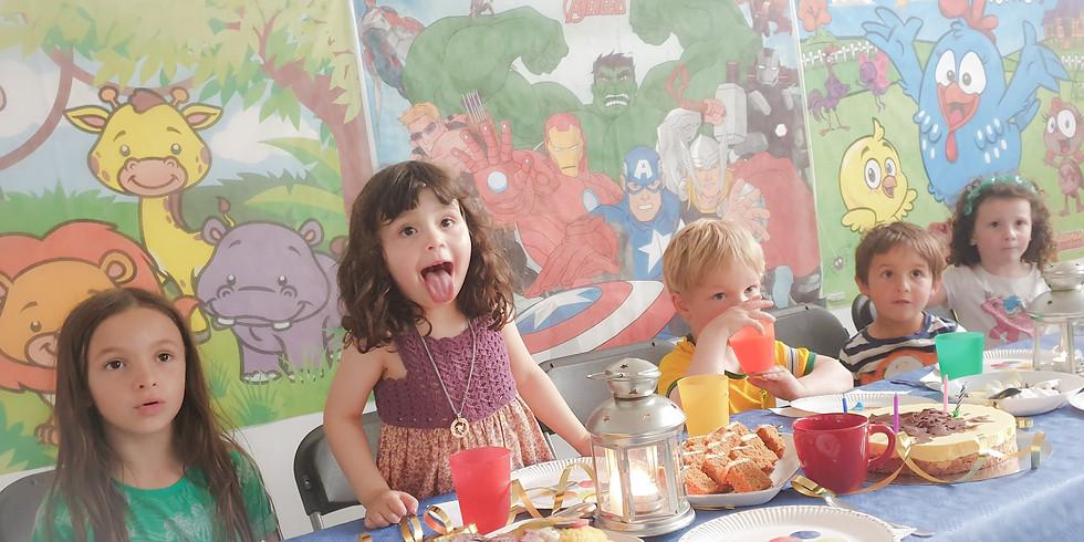 Crianças de 3 a 6 anos, bem-vindas à       17. edição do Clube da Pipoca!