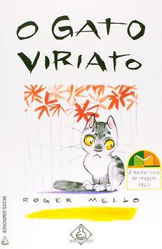 O gato Viriato fazendo arte