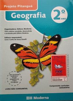 Geografia  ‐ 2° ano, Projeto Pitanguá