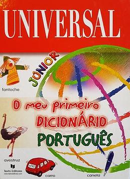 O meu primeiro dicionário português