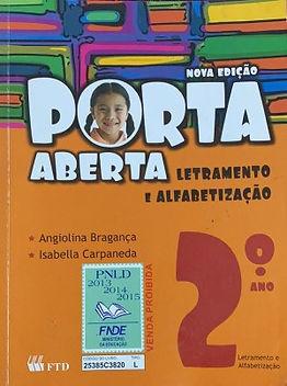 Letramento e alfabetização  ‐ 2° ano, Porta Aberta
