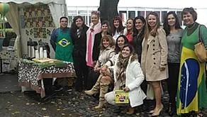 Estande do Brasil na Feira do Livro de Oslo em setembro de 2014