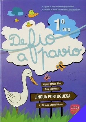 Língua Portuguesa ‐ 1° ano, De fio a pavio
