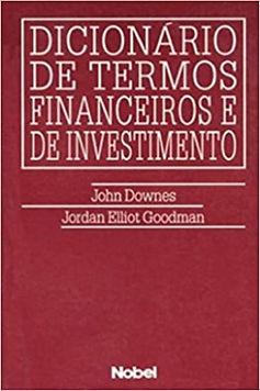 Dicionário de termos financeiros e de investimento