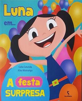 "Luna em ""A festa surpresa"""