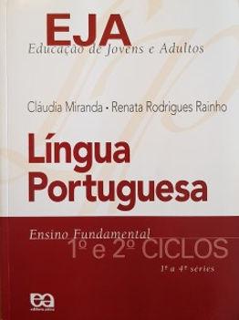 EJA - Língua Portuguesa 1ª a 4ª séries