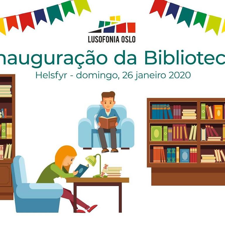 Inauguração de biblioteca