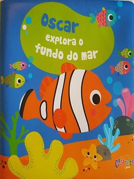 Oscar explora o fundo do mar