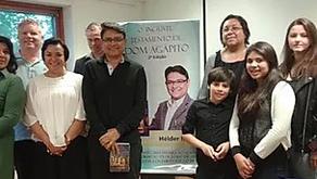 Hélder Moura lança livro