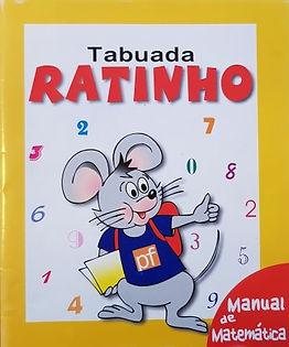 Tabuada do Ratinho, manual de matemática