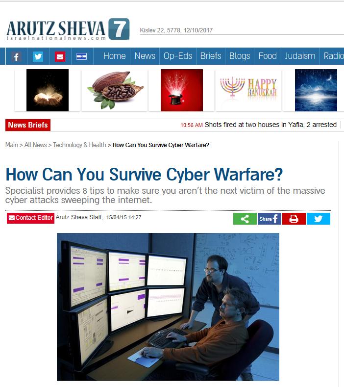 Survive-Cyber-Warfare