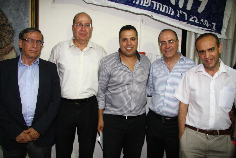 שמוליק לרמן סילבן שלום משה רווח בוגי יעלון ישראל זינגר