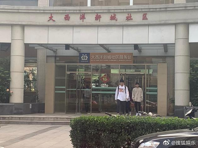Roy Wang outside the Chaoyang District Health and Family Planning Supervision Office