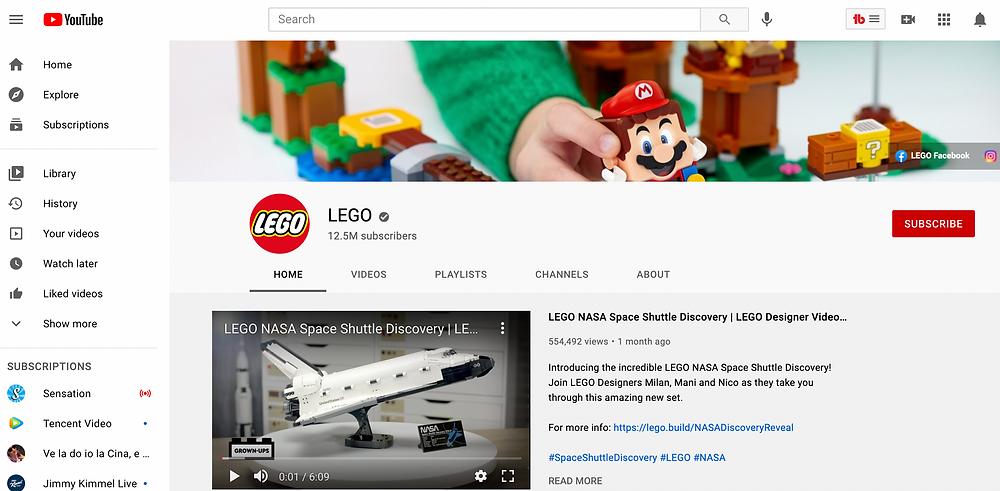 乐高 Youtube lego