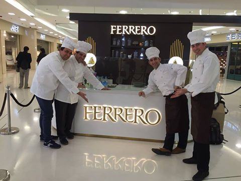 Ferrero China Launch