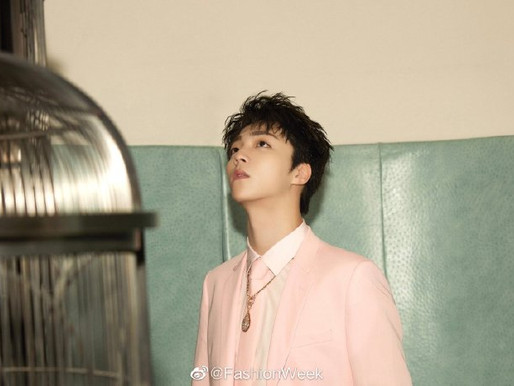 """Chen Linong's new album """"格格不入"""" press conference and performance"""