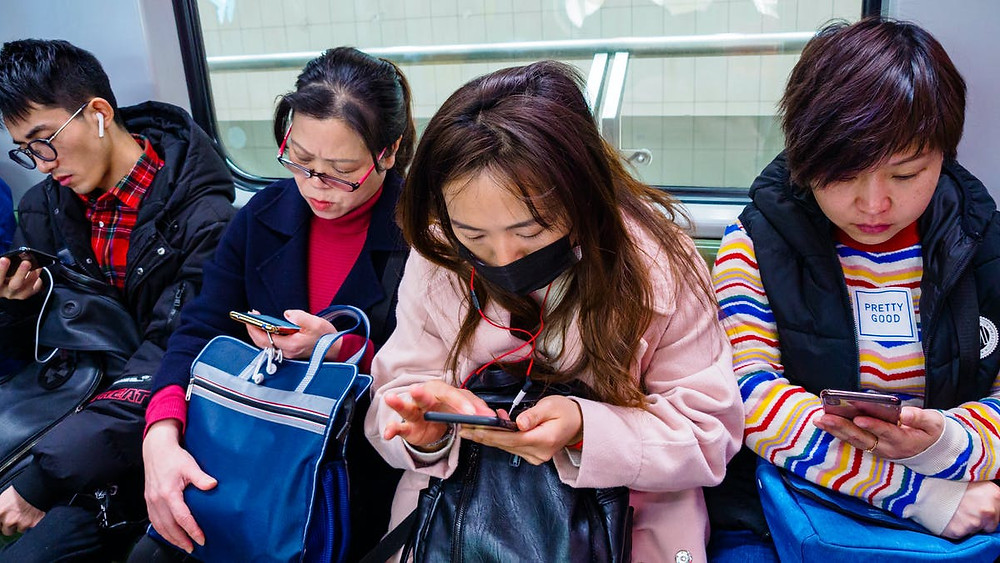 generation X chinese relationship with social media