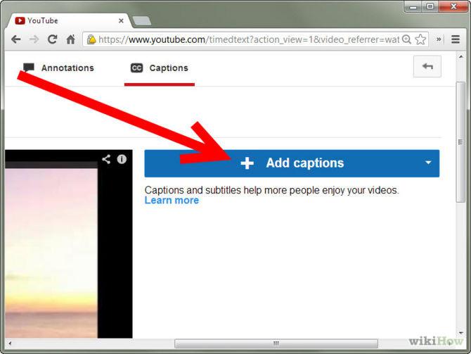 创建隐藏式字幕,改善可访问性和搜索引擎优化