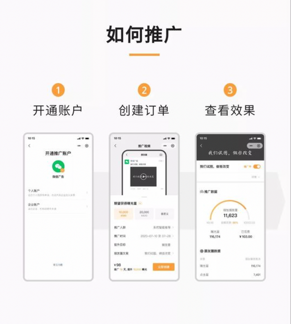 WeChat Video Channel  advertising