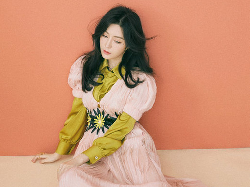 Tang Jingmei new pictures for Star Look magazine