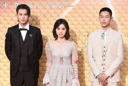 Dylan Wang and Shen Yue together at the Asian Film and TV Week