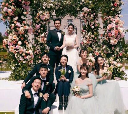 Zhang Ruoyun and Tang Yixin got married