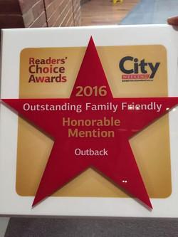 Outback award