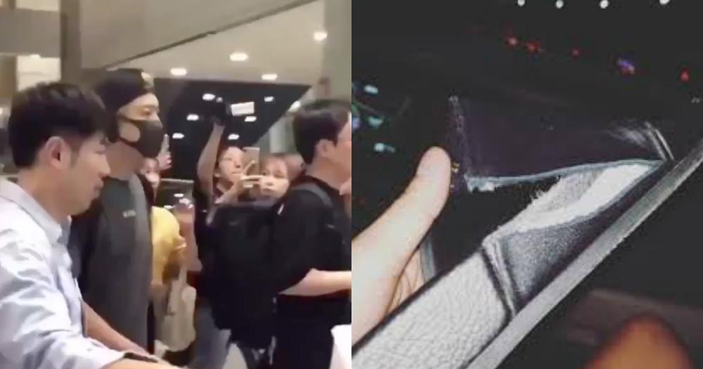 Chanyeol degli EXO chiede ai fan su Instagram di mantenere l'ordine e rimanere calmi in aeroporto dopo un incidente avvenuto per il troppo affollamento.