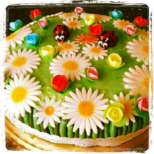 Spring Meadow Cake