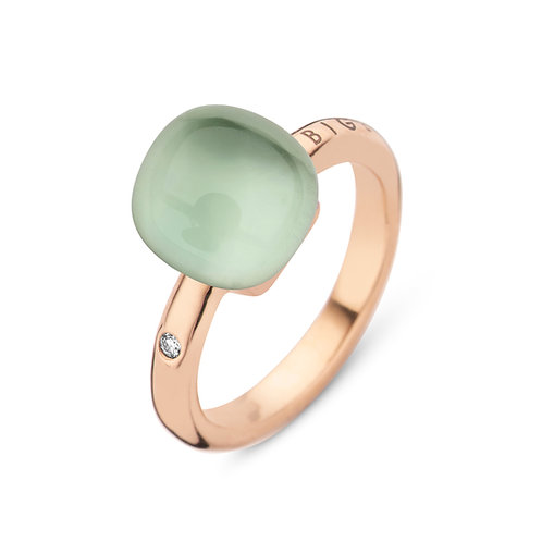 Bigli Mini Sweety Ring met Amathist