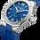 Thumbnail: Baume et Mercier Riviera edelstalen herenhorloge automaat met rubberen band