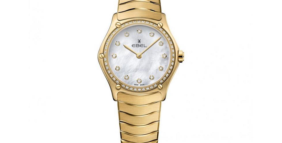 Ebel Sport Classic Lady 18k Gold