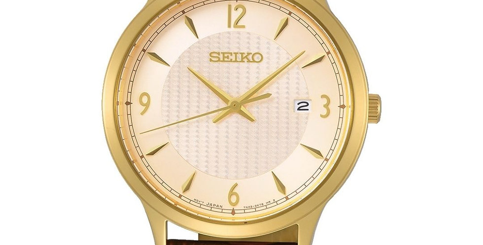 Seiko Classic Quartz heren polshorloge (SGEH86P1)