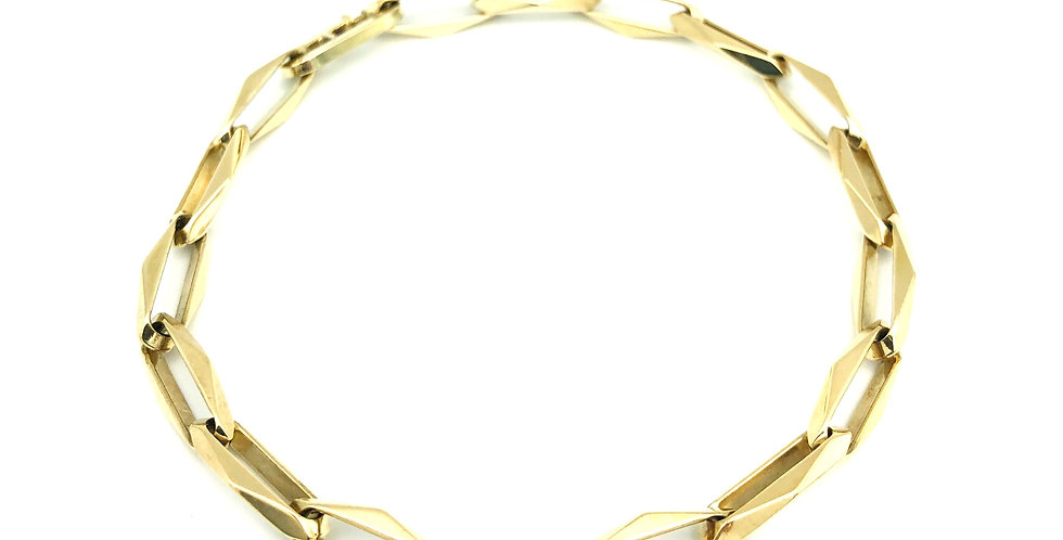 14 krt. Geelgouden closed-for-ever armband