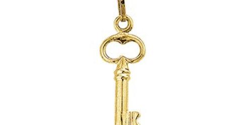 14 krt. Geelgouden sleuteltje