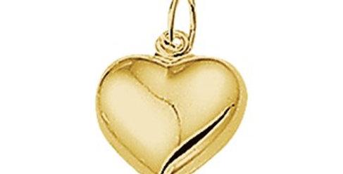 14 krt. Geelgouden hart