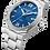 Thumbnail: Baume et Mercier Riviera edelstalen herenhorloge automaat met blauwe wijzerplaat