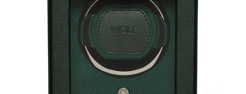 Watchwinder groen voor 1 horloge