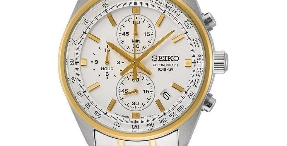 Seiko Quartz herenhorloge (SSB830P1)