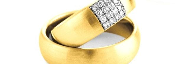 14 krt. Geelgouden trouwringen van Christian Bauer 6,5 mm