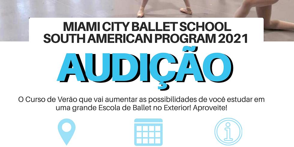 Audição Miami City Ballet