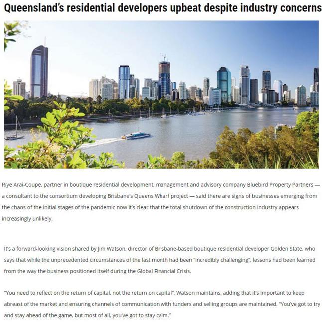Queensland's residential developers upbeat despite industry concerns