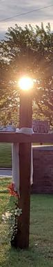 Sunrise cross