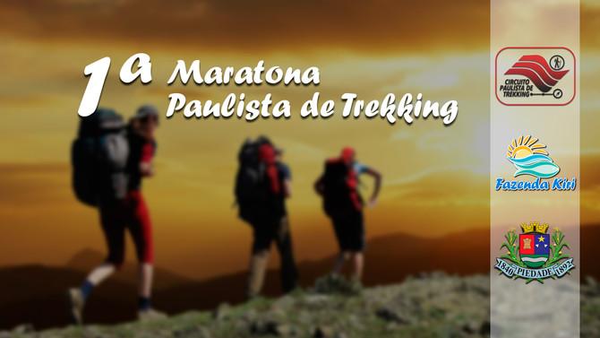 1ª Maratona Brasileira de Trekking em Piedade - SP