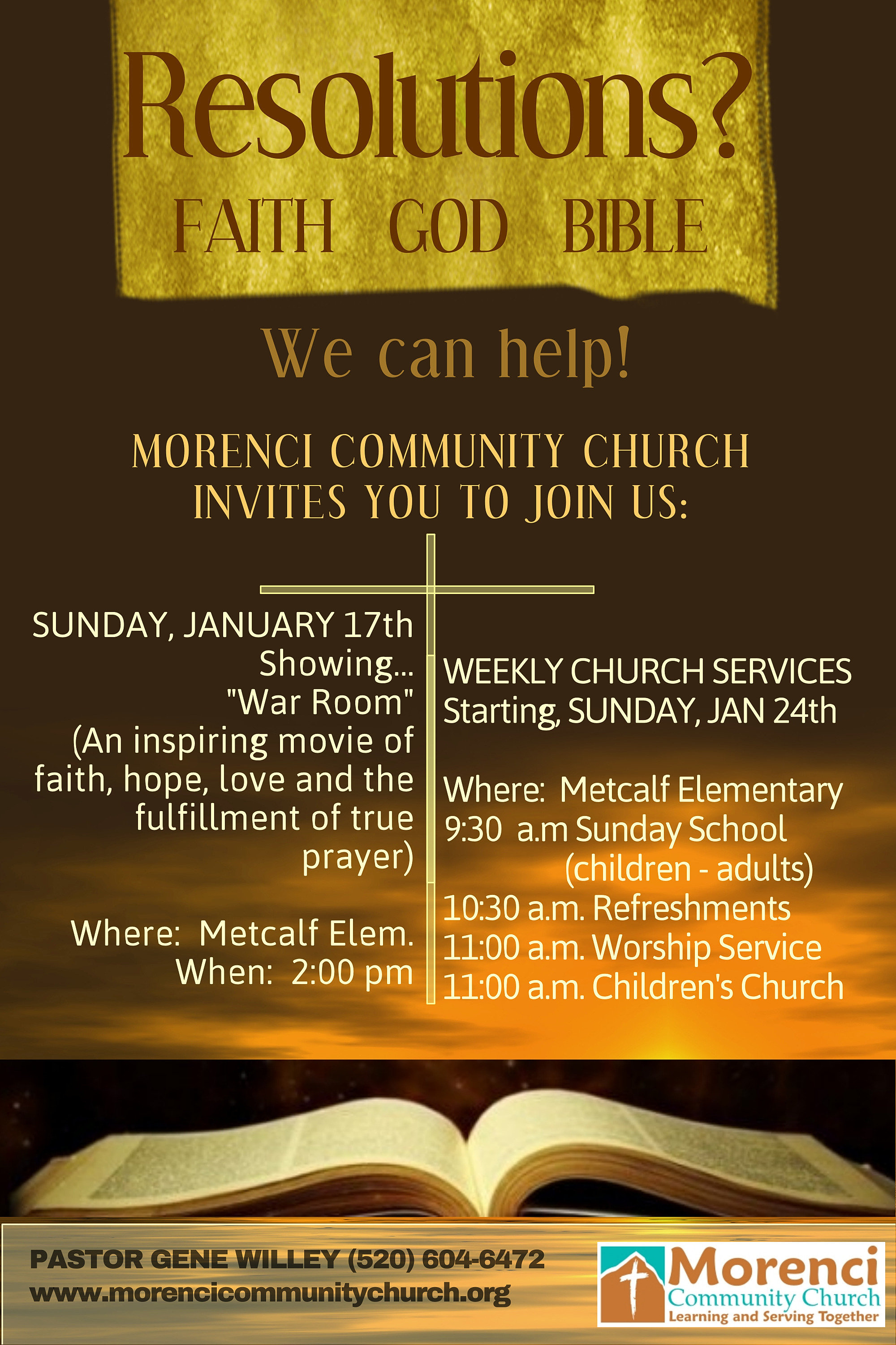 morenci community church flyer morenci community church flyer