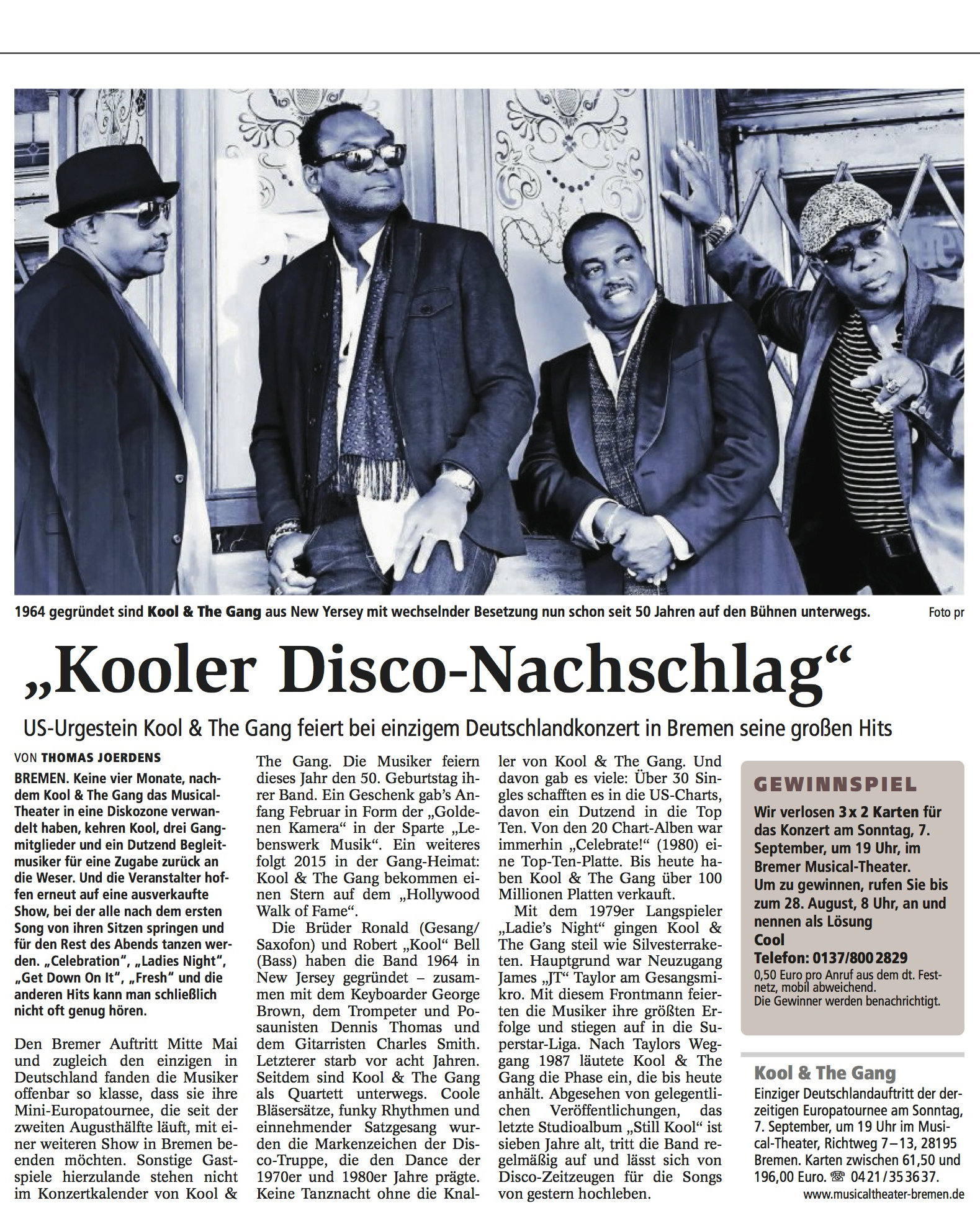 kool and the gang, bremen 23.8.14.jpg